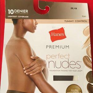 Hanes Premium Perfect Nudes Tummy Control